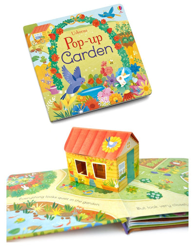 Pop Up Garden English Educational 3D Flap Picture Books