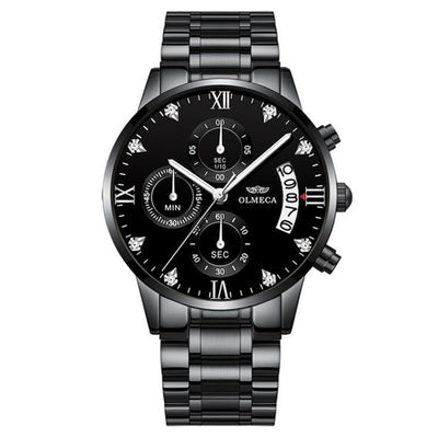 Luxury Waterproof Watches Chronograph Watch for Men