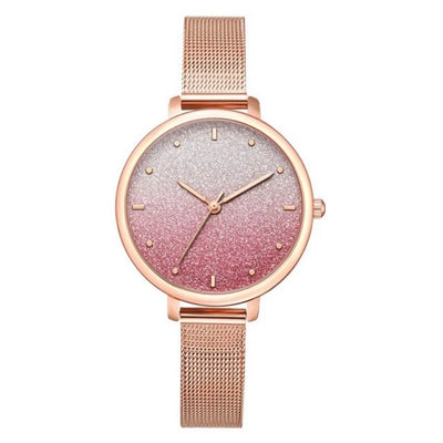 Luxury Metal Belt Bracelet Watches For Women