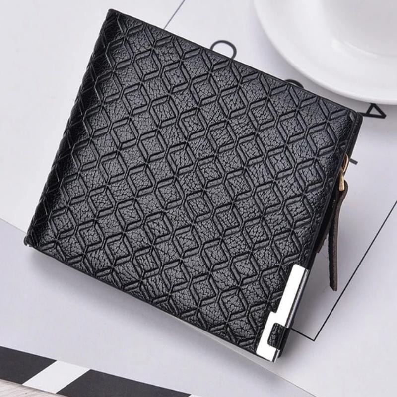 Short Purse PU Vintage Wallet for Man