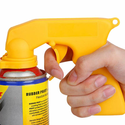 Spray Gun Paint Care Aerosol Handle with Full Grip Trigger