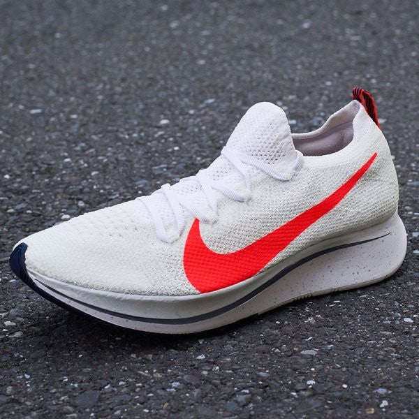 93b0a2de14ffa NIKE ZOOM FLY FLYKNIT EKIDEN PACK MENS RUNNING SHOES WHITE/RED FROM JAPAN  SW ...