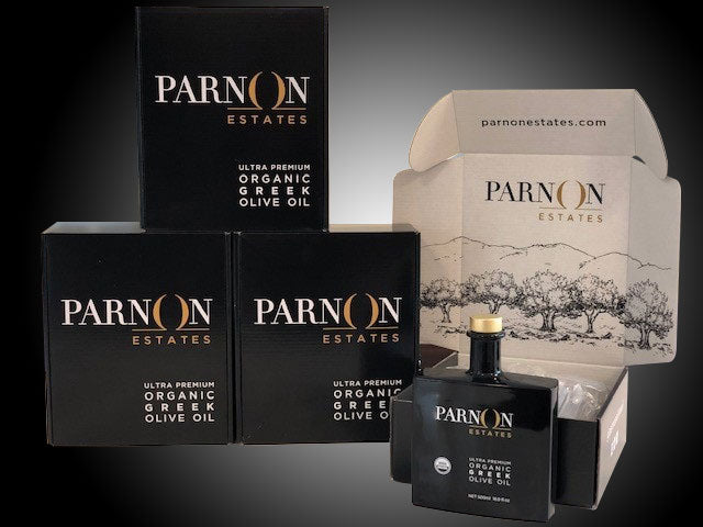 Parnon Estates Ultra-Premium Organic Greek Olive Oil