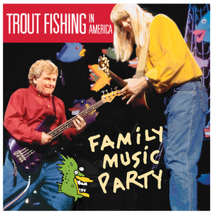 Trout's Family Music Party CD