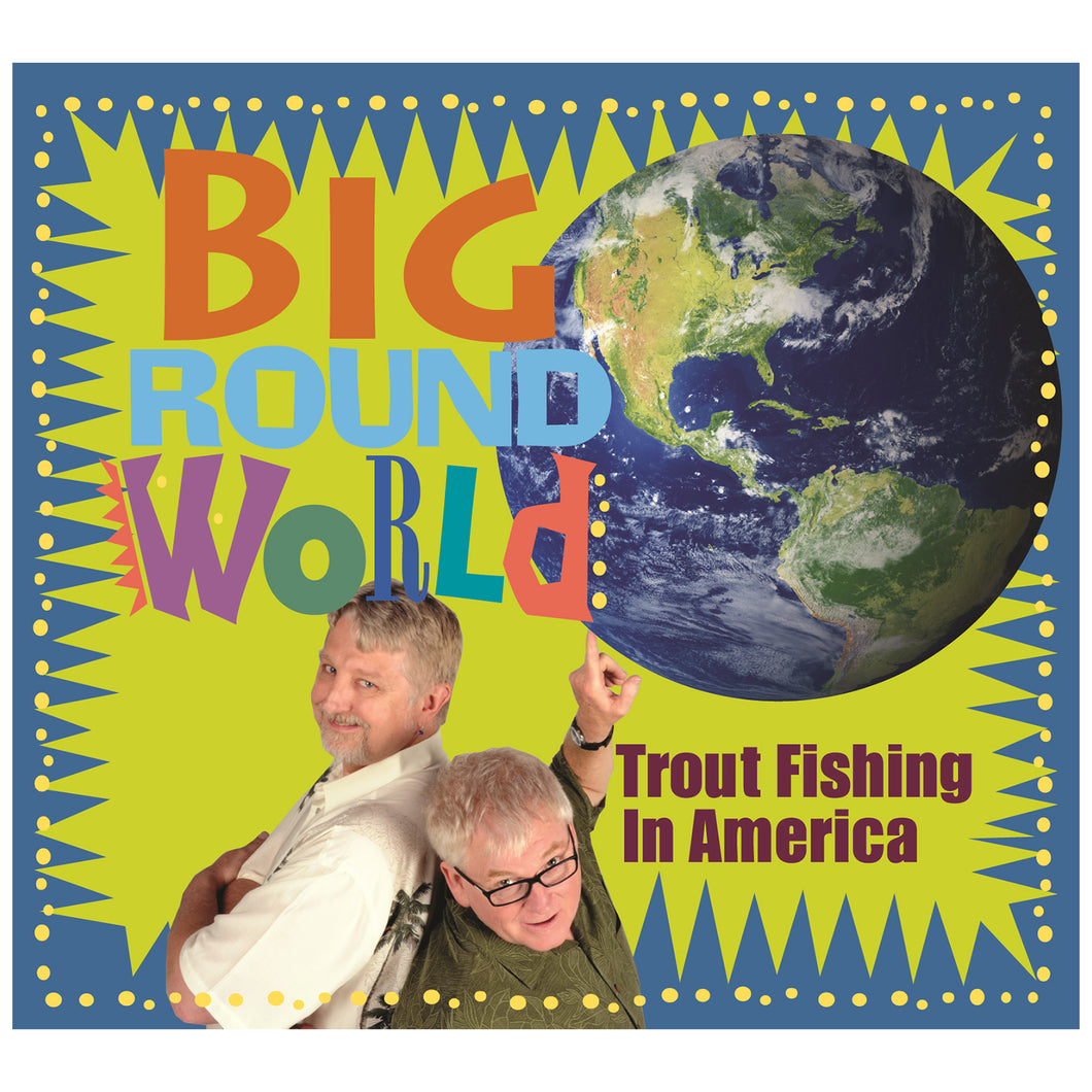 Trout's Big Round World CD