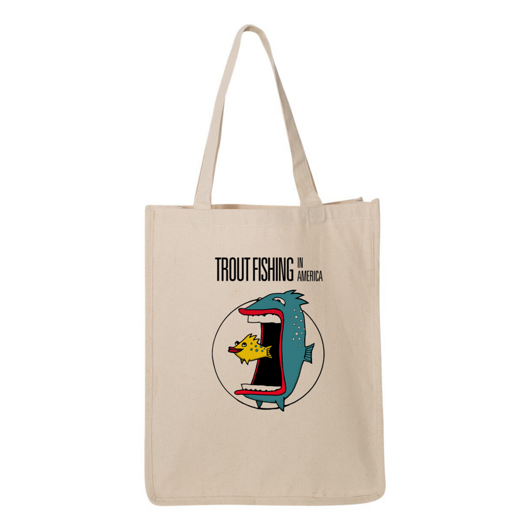 Trout tote
