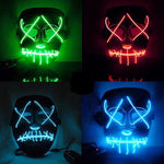 "Electro-Luminescent ""Purge"" Mask"