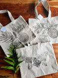 Hand-Printed Tote
