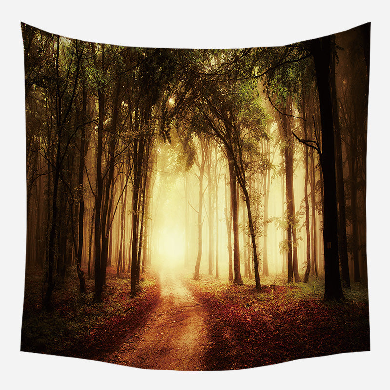 Tunnel Light Tapestry Wall Hanging Tapis Cloth