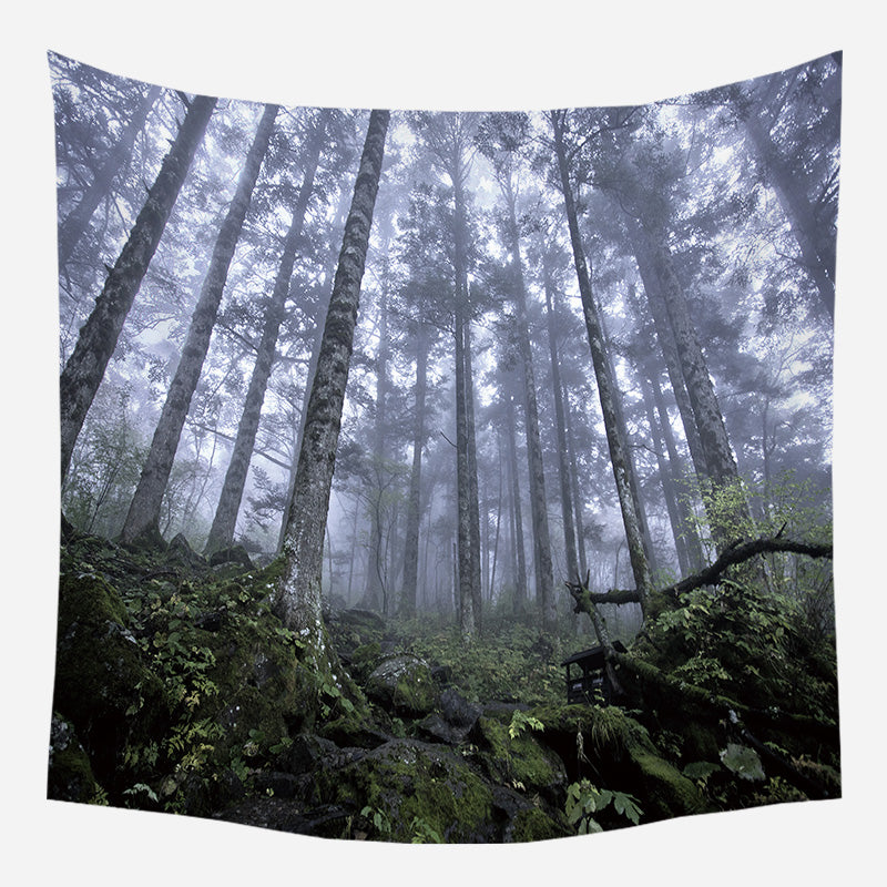 Deep Forest Tapestry Wall Hanging Tapis Cloth