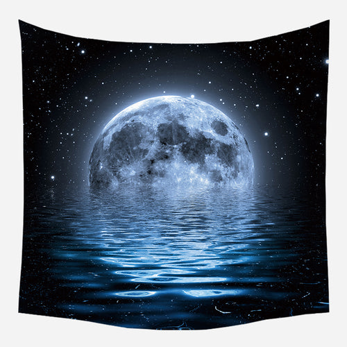 Majestic Moon Tapestry Wall Hanging Tapis Cloth