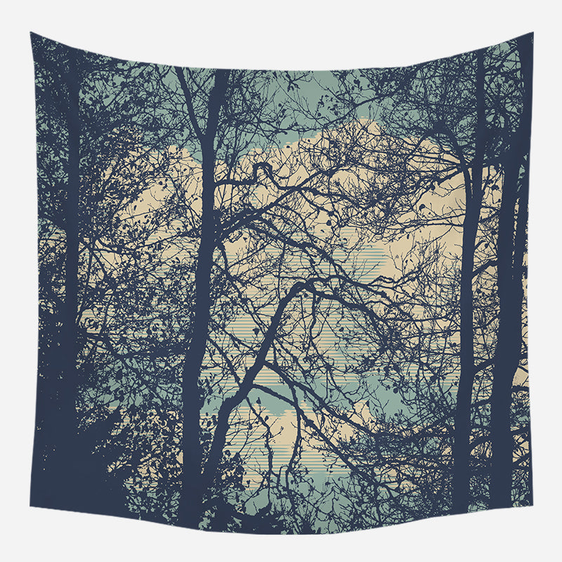 Evenings In The Dorm Tapestry Wall Hanging Tapis Cloth