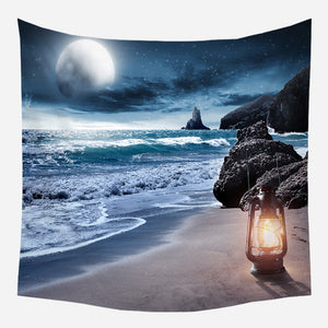 Seaside Chimney Tapestry Wall Hanging Tapis Cloth
