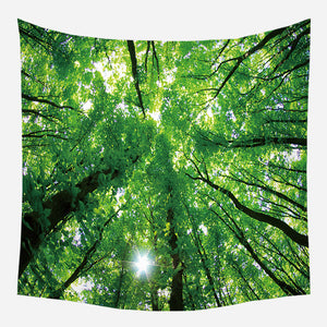 Forest View Tapestry Wall Hanging Tapis Cloth