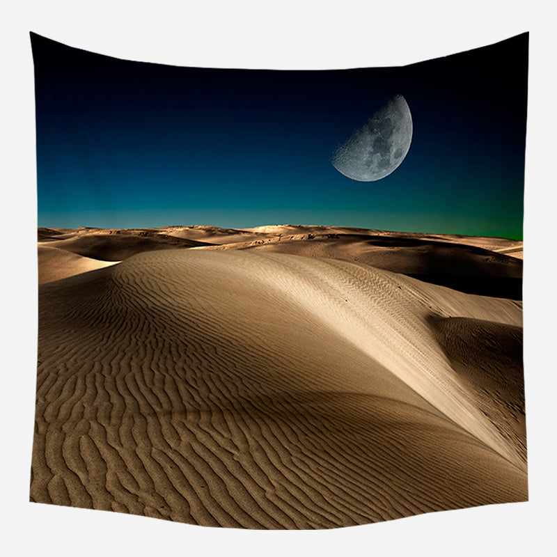 Desert Night Tapestry Wall Hanging Tapis Cloth