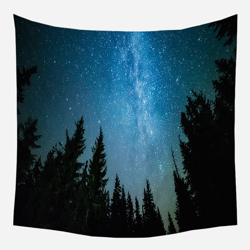 Galaxy Scotia Tapestry Wall Hanging Tapis Cloth