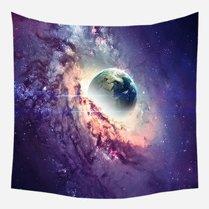 Earth Swallowed Tapestry Wall Hanging Tapis Cloth