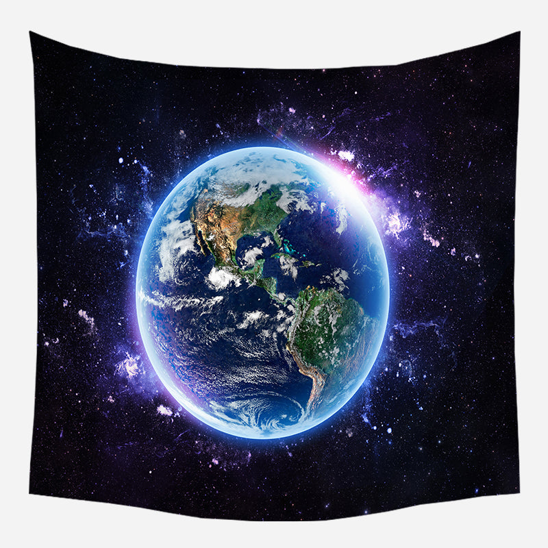 Earth's Aura Tapestry Wall Hanging Tapis Cloth