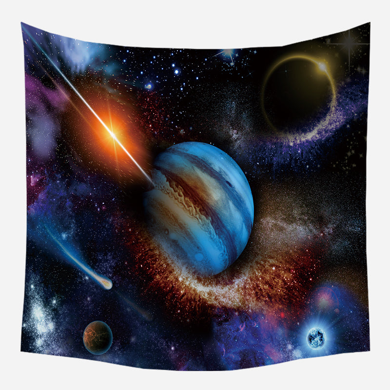 Massive Galaxy Aura Tapestry Wall Hanging Tapis Cloth