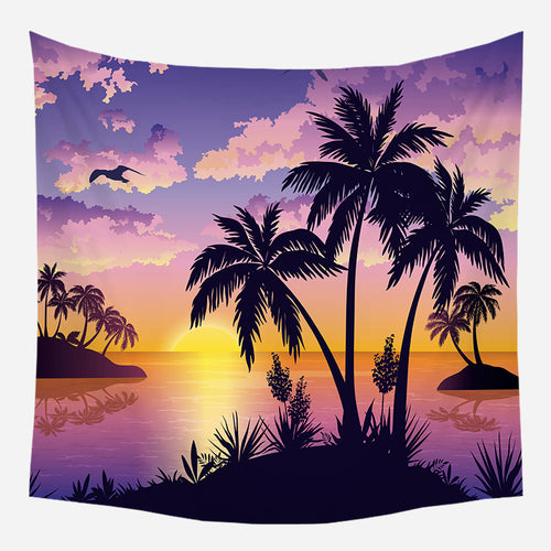 Magical Sunset Tapestry Wall Hanging Tapis Cloth