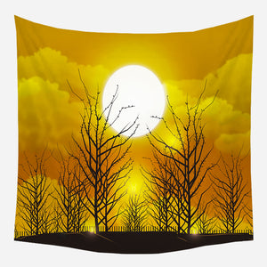 Original Yellow Sunset Tapestry