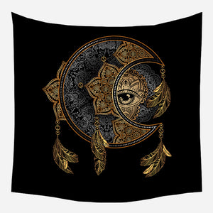 Dream Catcher Eye Tapestry Wall Hanging Tapis Cloth