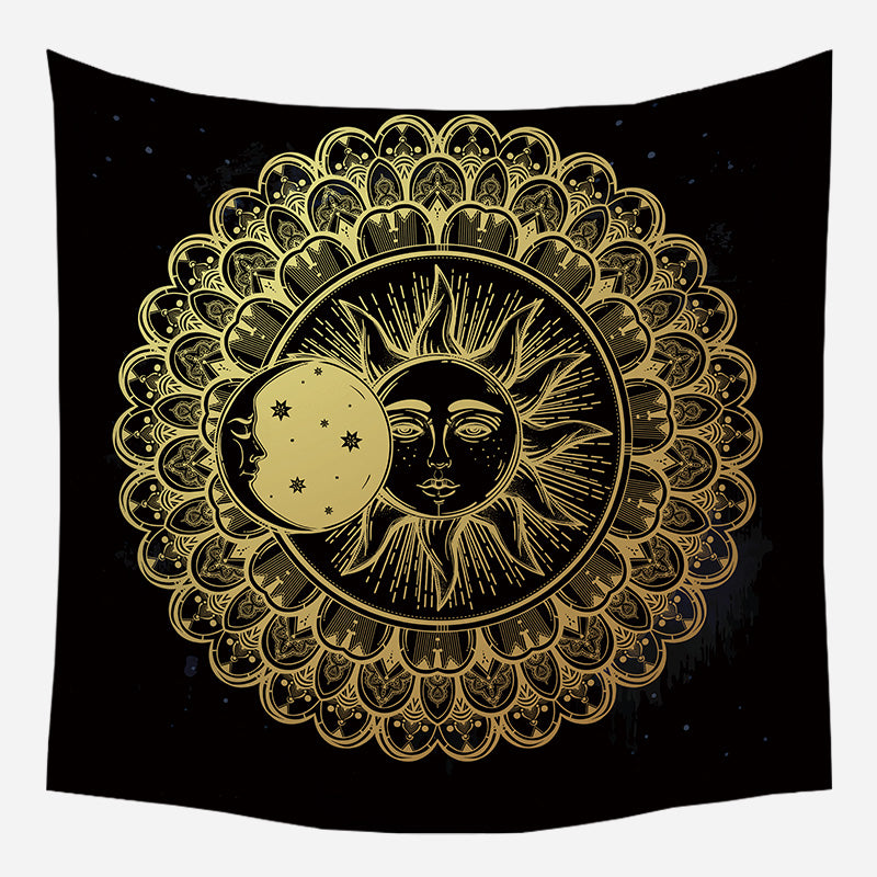 Sleeping Moon & Bright Sun Tapestry