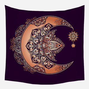Dream Catcher Moon Tapestry Wall Hanging Tapis Cloth