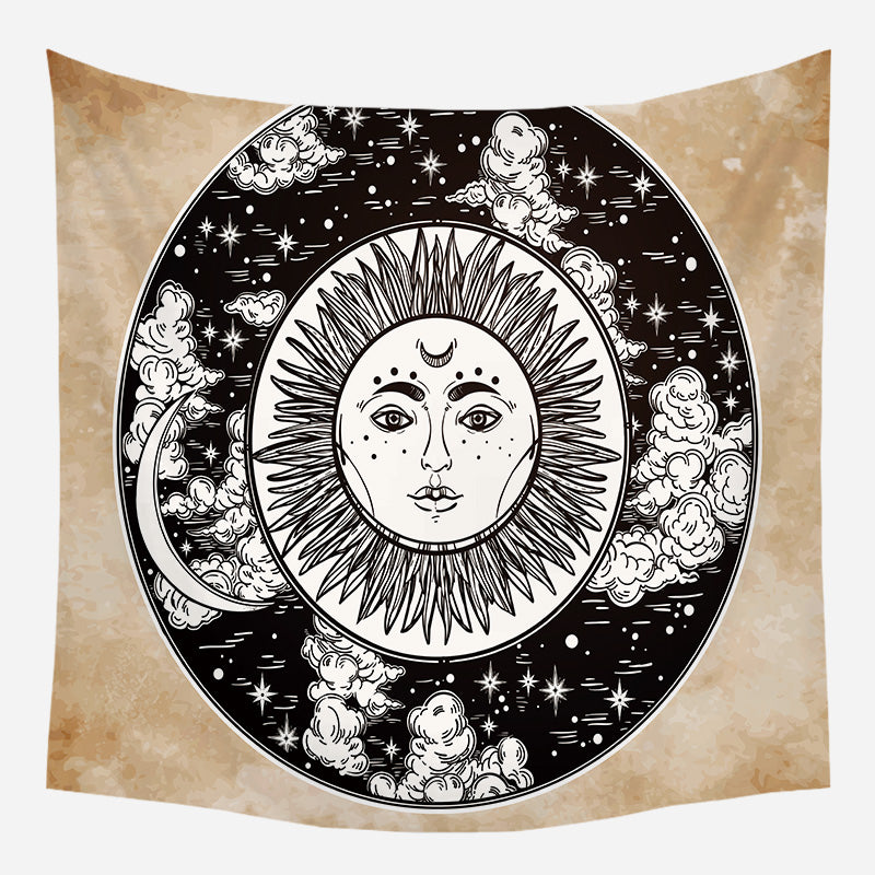 Sun In The Clouds Tapestry
