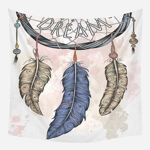 Dream Print Tapestry Wall Hanging Tapis Cloth