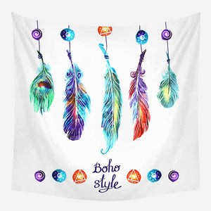Colorful Boho Style Tapestry Wall Hanging Tapis Cloth