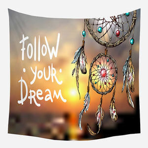 Dream Catcher Tapestry Wall Hanging Tapis Cloth