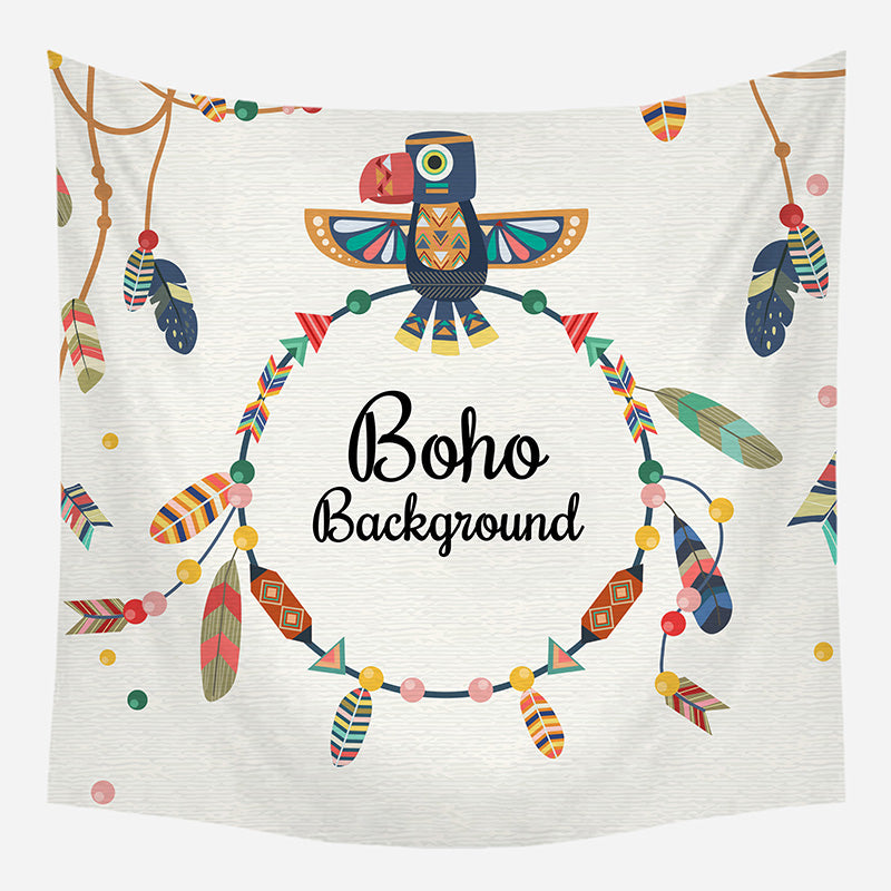 Boho Print Tapestry Wall Hanging Tapis Cloth
