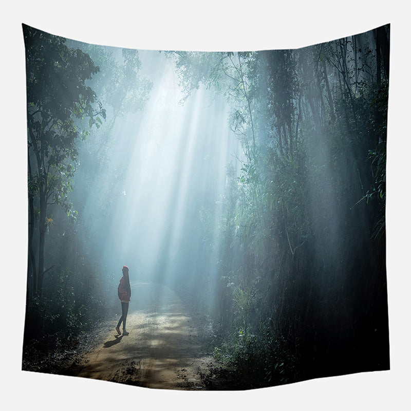 In the Woods Tapestry Wall Hanging Tapis Cloth