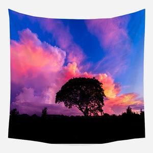 Dusk Sky Tapestry Wall Hanging Tapis Cloth