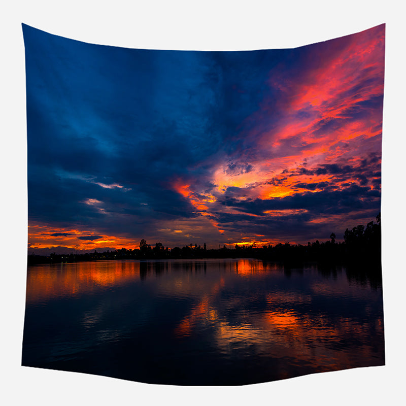 Sunset Sky Tapestry Wall Hanging Tapis Cloth