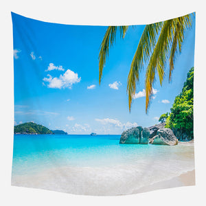 Beach Tapestry Wall Hanging Tapis Cloth