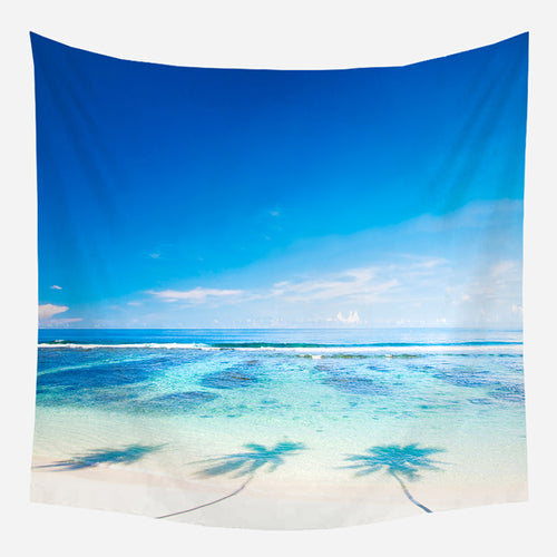 Beautiful Beach Tapestry Wall Hanging Tapis Cloth