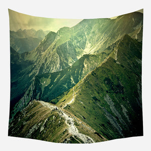Original Mountains Tapestry Wall Hanging Tapis Cloth