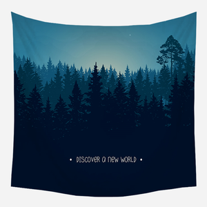 Twilight World Tapestry Wall Hanging Tapis Cloth