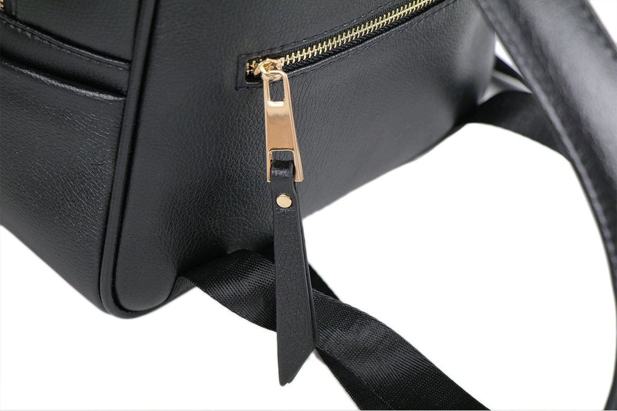Black Aurii Beauty Luxury Backpack