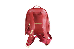 Red Aurii Beauty Luxury Backpack
