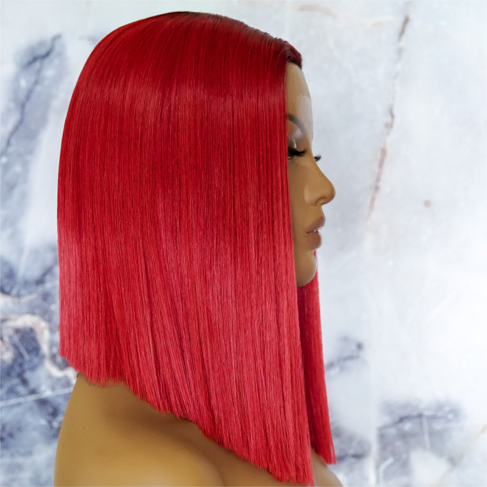 LAURA Red Ombre Lace Front Wig