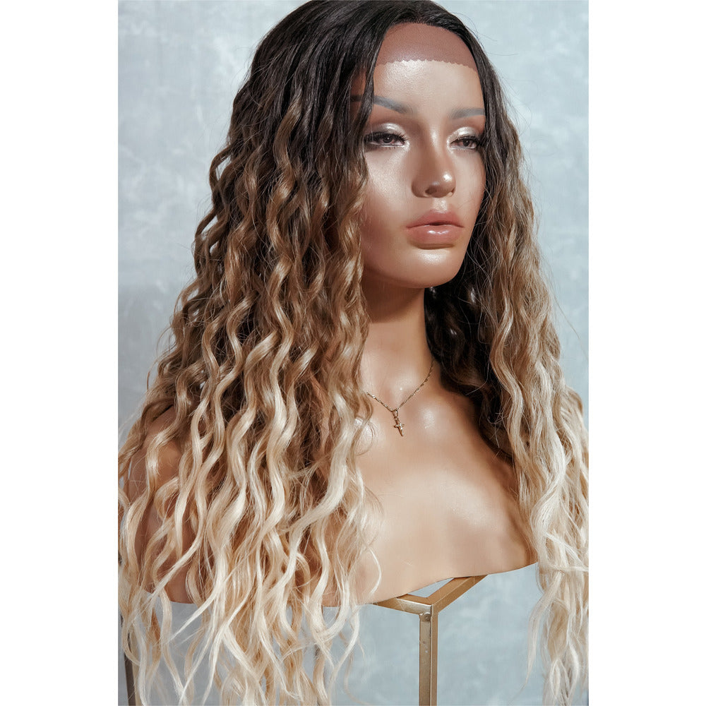 TEGAN Ombre Curly Lace Front Wig