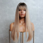 CHICAGO Blonde Ombre Fringe Wig