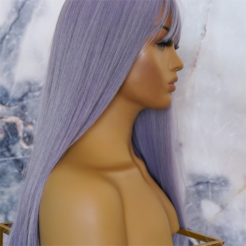 "POPPY Purple 20"" Fringe Wig"