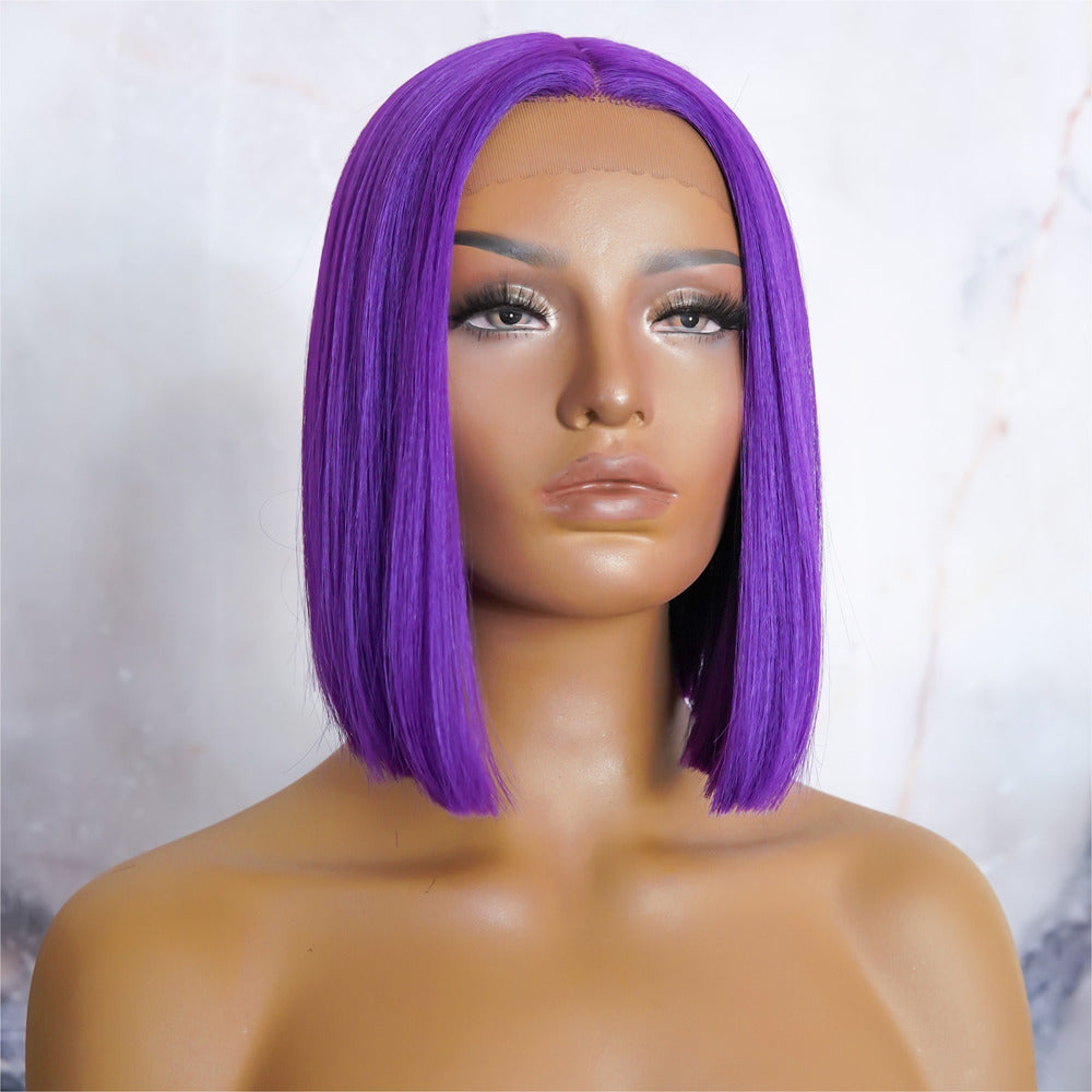 TILLY Purple Lace Front Wig