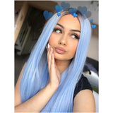 Cool Girl Blue Ombre Lace Front Wig