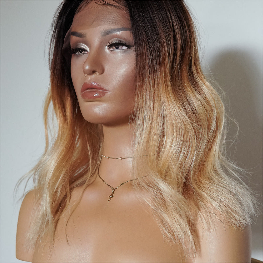 ANNABELLE OMBRE Human Hair Full Lace Wig
