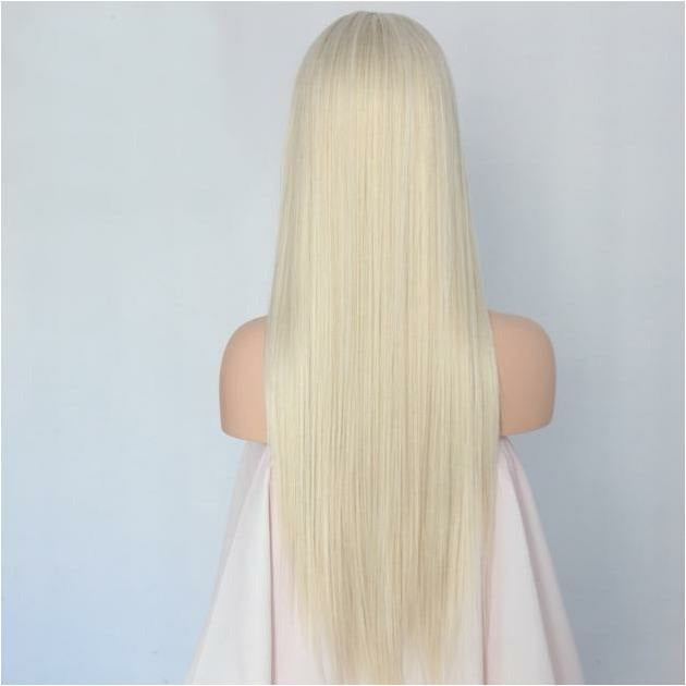 Ice Cold White Blonde Lace Front Wig